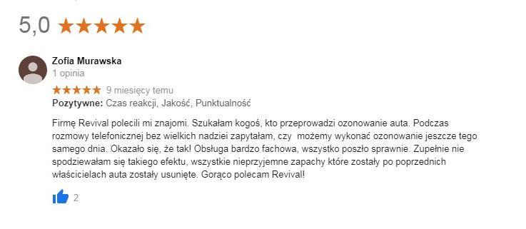 Revival - Rekomendacje